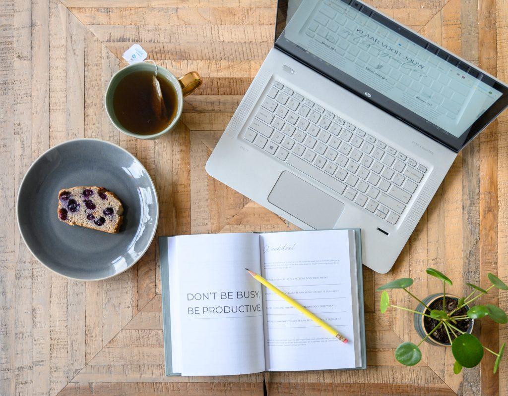 Planning maken ondernemer